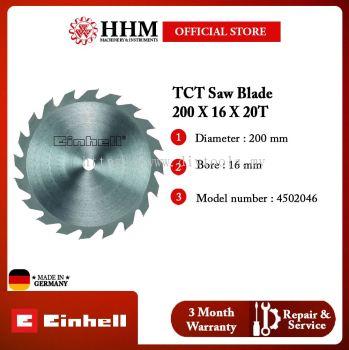 EINHELL TCT Saw Blade 200 x 16 x 20 T 4502046