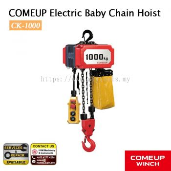 COMEUP Electric Baby chain hoist CK-1000