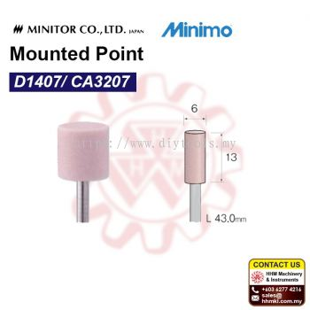 MINIMO Mounted Point D1407/ CA3207