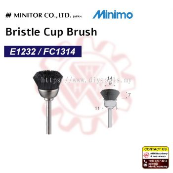 MINIMO Bristle Cup Brush E1232/ FC1314