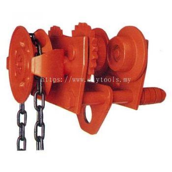 NITCHI GT5 Geared Trolley for Chain Hoist