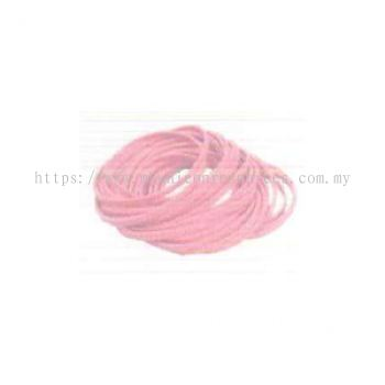 Antistatic Rubber Band (Pink/White)