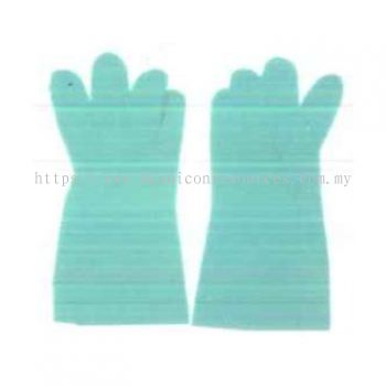 Chemical Resistant Nitrile Gloves - Green