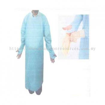 CPE Disposable Apron with Thumb Hole
