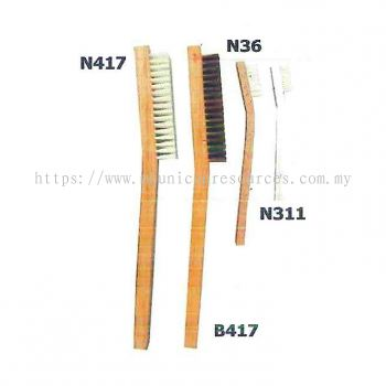 Wooden & Aluminium Handle Brushes
