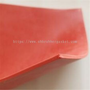 FDA Red Silicone Sheet