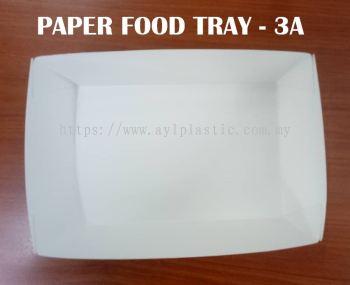 OKID PAPER FOOD TRAY (3A) (180X120X5MM)