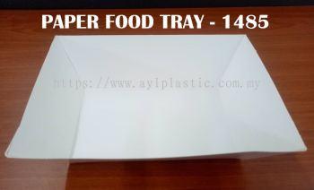 OKID PAPER FOOD TRAY (PAFT 1485) (196X150X5.5MM)