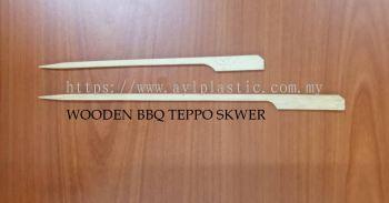 WOODEN BBQ TEPPO SKWER