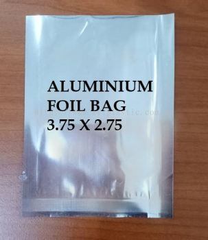 ALUMINIUM FOIL ZIPPER BAG 3.75X2.75