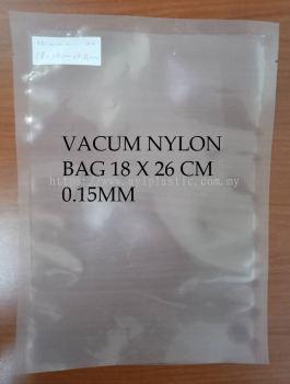 VACUM NYLON BAG 18X26CM X0.15MM