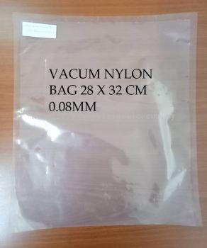 VACUM NYLON BAG 28X32CM X 0.08M