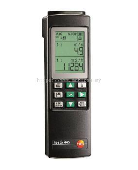 Testo 445 - Climate Measuring Instrument