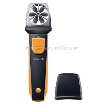 testo 410 i - vane anemometer with smartphone operation