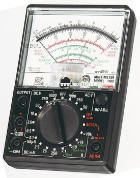 KYORITSU 1109S Analogue Multimeter