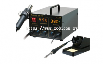 PROSKIT - SS-989 2in 1 SMD HOT AIR REWORK STATION