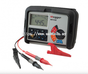 MEGGER MIT300 SERIES Insulation and Continuity Testers