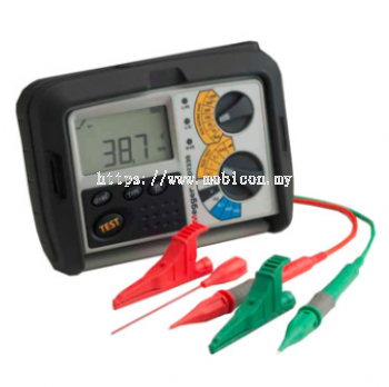 MEGGER RCDT310, RCDT320 AND RCDT330 Residual Current Device Testers