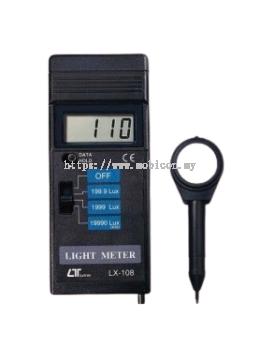 LUTRON LX-108 Light Meter