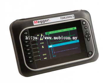 MEGGER TDR2000/3 and TDR2010 Advance Dual Channel TDR