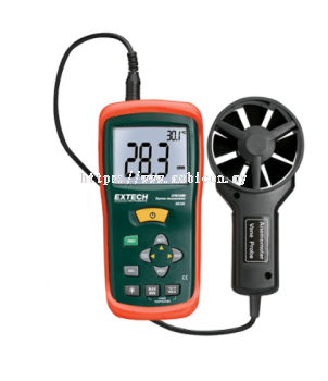 EXTECH AN100 : CFM/CMM Mini Thermo-Anemometer