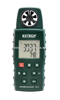 EXTECH AN510 : SMM/CFM ANEMOMETER + TYPE K