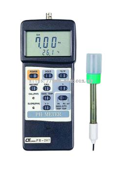 LUTRON PH-207 PH Meter, RS-232