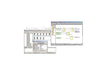 OMRON WS02-CFSC1-E Programming Software for Creating Safety Circuits.