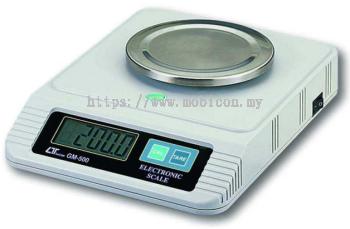 LUTRON GM-500 Digital Scale, 500g x 0.1g, RS-232
