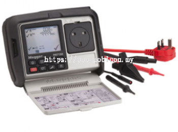MEGGER PAT120, PAT150 and PAT150R Handheld Portable Appliance Testers