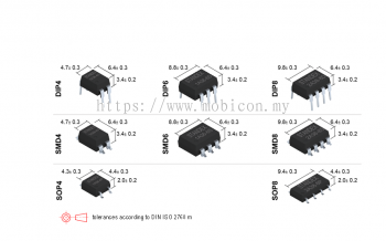 STANDEX SMP-2A38-8DT Photo-Mosfet Relay