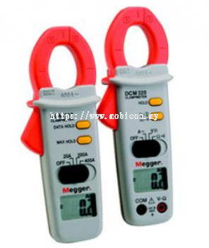 MEGGER DCM310 and DCM320 Digital Clamp Meter