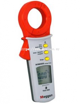 MEGGER DCM350E Earth Leakage Clamp Meter