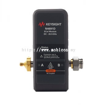 KEYSIGHT N4691D Electronic Calibration Module (ECal), 26.5 GHz, 3.5 mm, 2-port