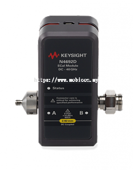 KEYSIGHT N4692D Electronic Calibration Module (ECal), 40 GHz, 2.92 mm, 2-port