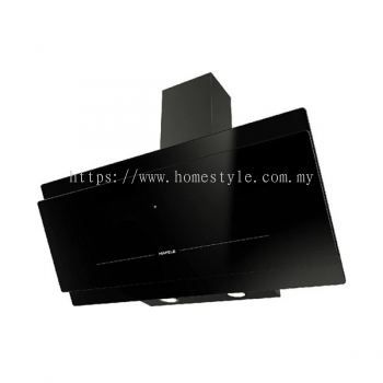 Hafele Designer Black Glass Hood HH-D90B1