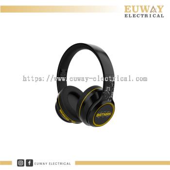A&S SE100 DC WIRELESS OVER-EAR HEADPHONES(BATMAN)
