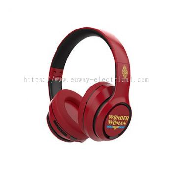 A&S SE100 DC COMICS WIRELESS OVER-EAR HEADPHONE (WONDER WOMEN)