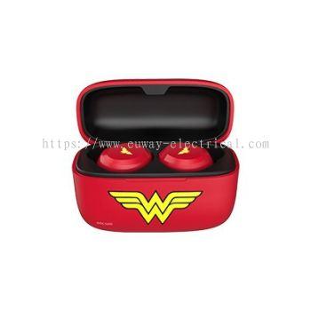A&S TWS02SE DC TRUE WIRELESS EARBUDS WITH CASE (WONDER WOMEN)
