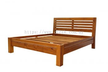 Slat Bed Queen Size