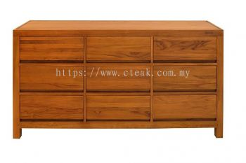 9 Drawers Side Board