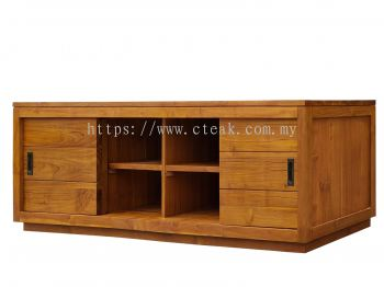 2 Doors Sleeding TV Cabinet