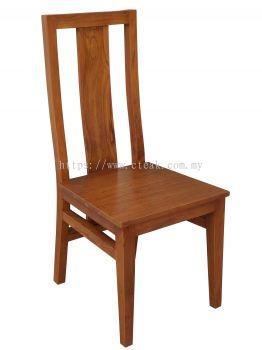 Dining Chair (Model 602) (Light Walnut)