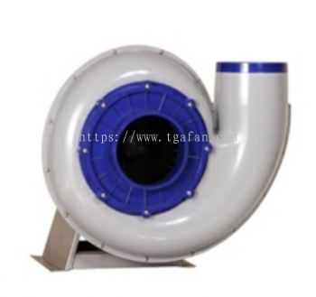 PP Chemical Resistance Centrifugal Fan