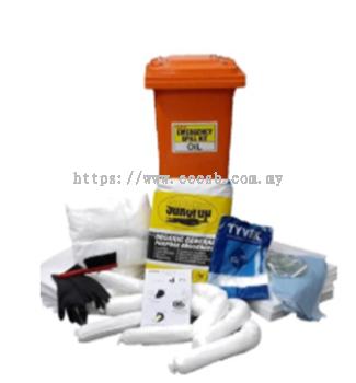 Crisben Mobile Oil Spill Kit Bin