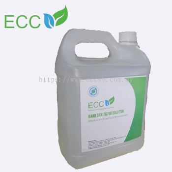 ECC-Hand Sanitizing Solution