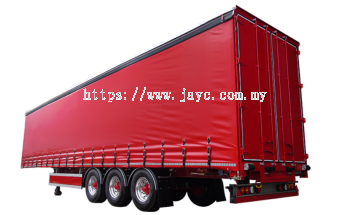40ft Curtain-Sided Trailer, 20 Tonne
