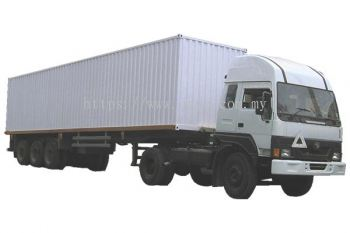 40ft 20 ton lorry (Box, Curtain, Cargo)