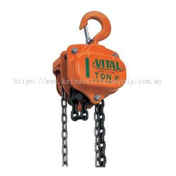 Vital Chain Block (1-2'', 1'' , 1-2'', 2'', 3'', 5'')