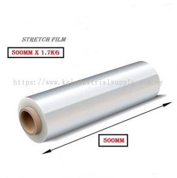 Stretch Film 1.7kg 500MM 2''